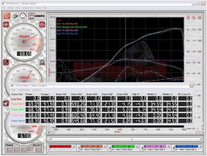 Inertia Brake Dyno Dynamometer Software Karts Rc