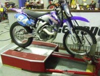 Inertia Dyno for Motorbikes, Home Made Dynamometer