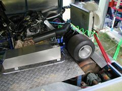 Trailer dyno for Go-Kart, homebuilt